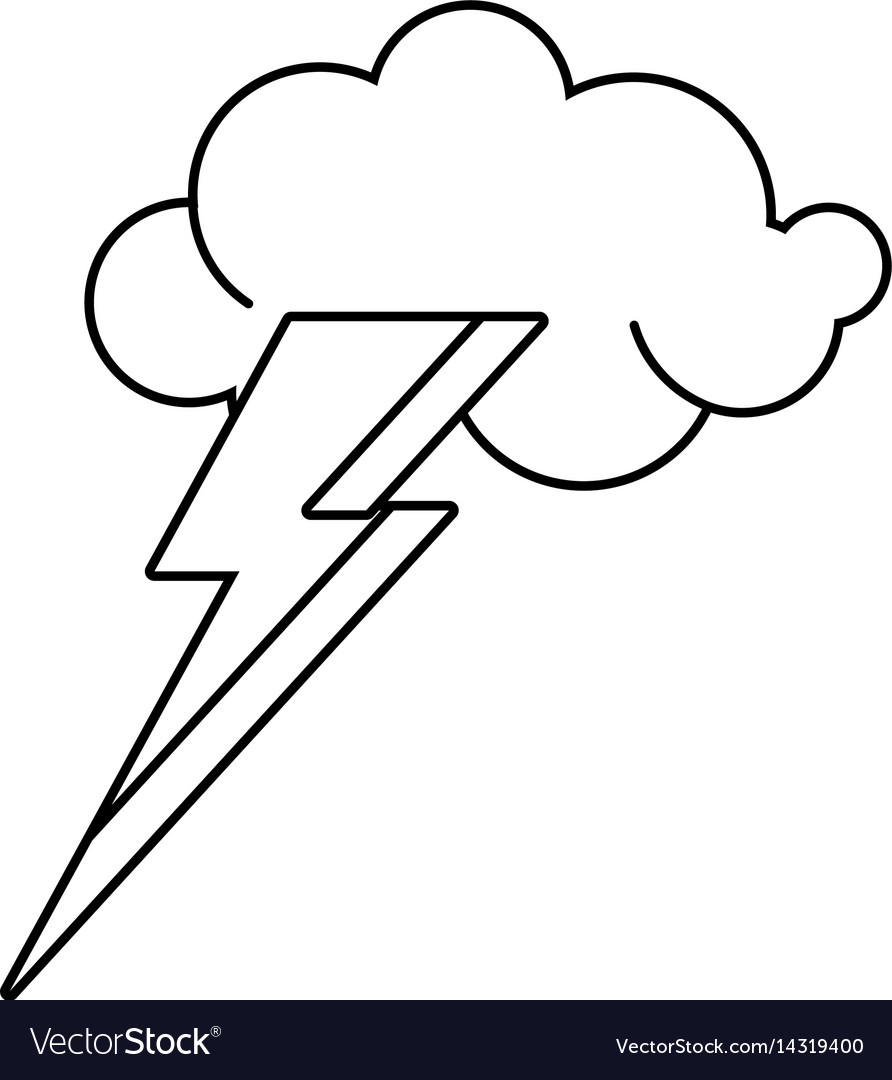 Cloud lightning idea outline