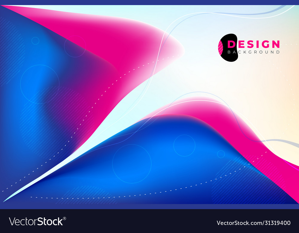 Liquid color background design fluid gradient