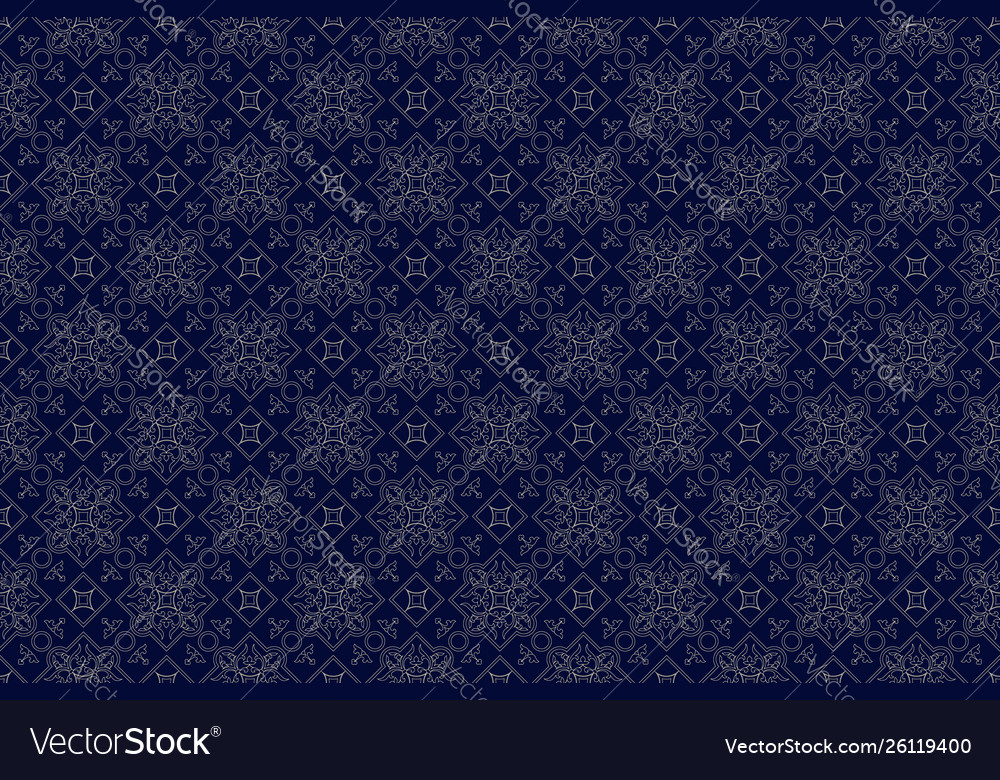 Retro seamless pattern classic background