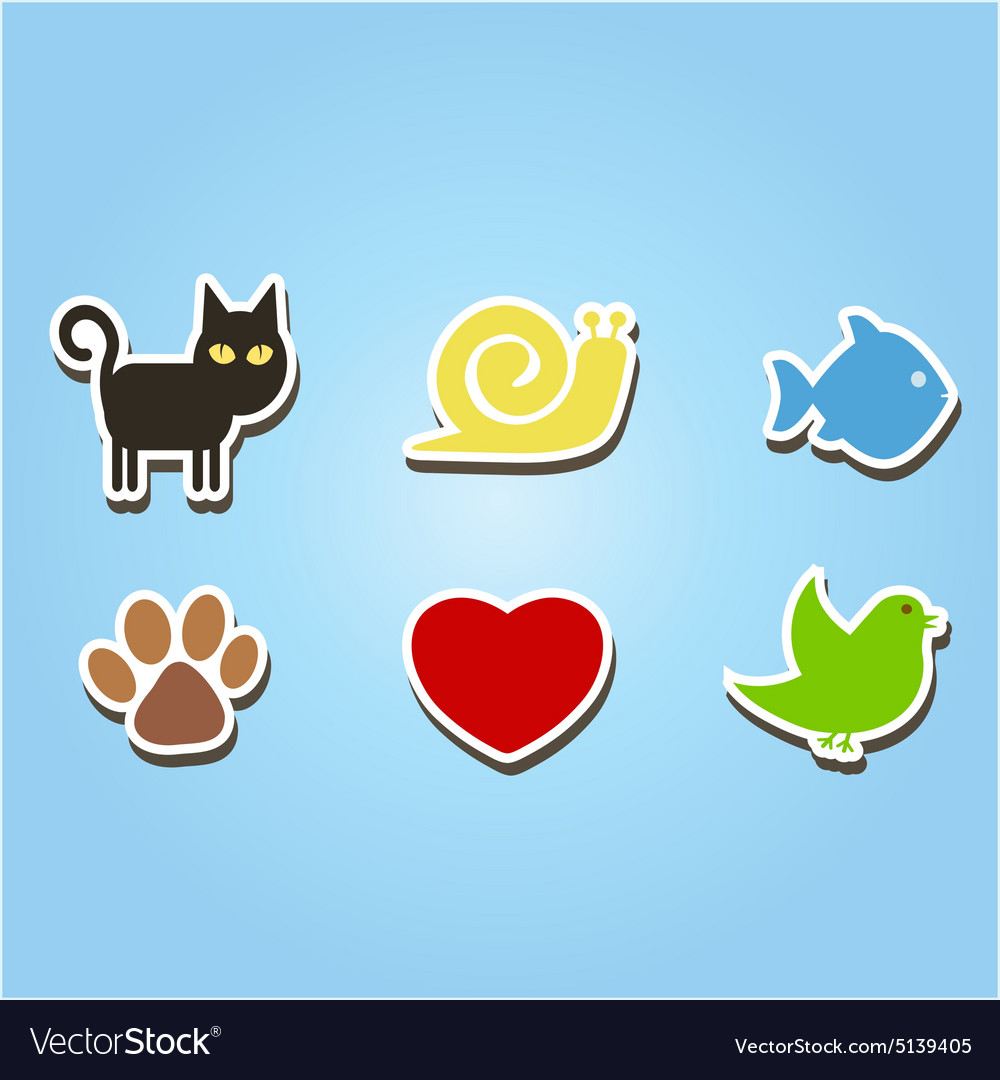 Color icons with pets