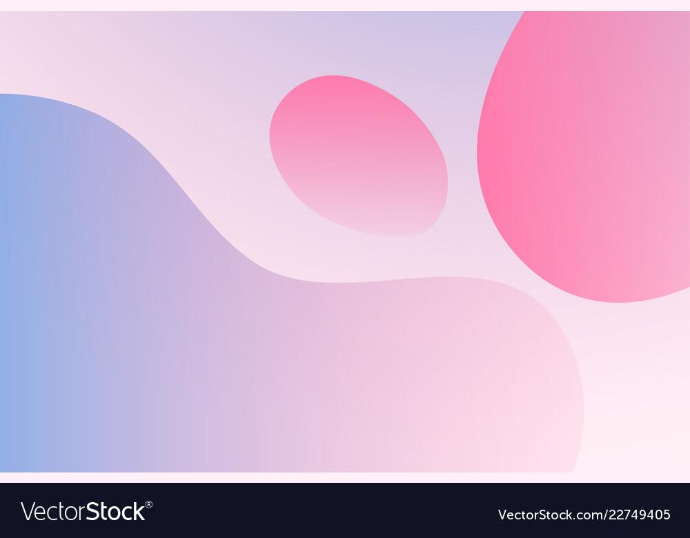Gradient background simple liquid in light colors