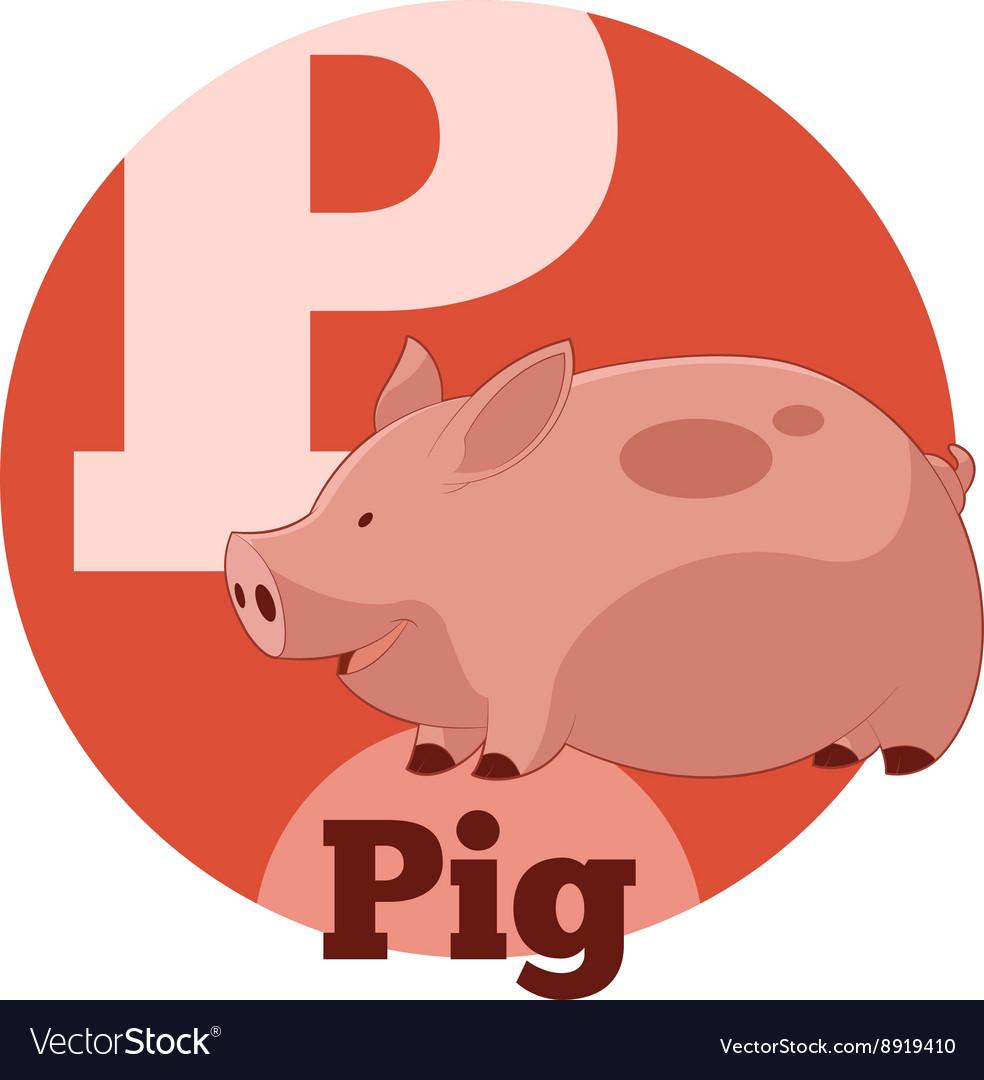 ABC Cartoon Pig