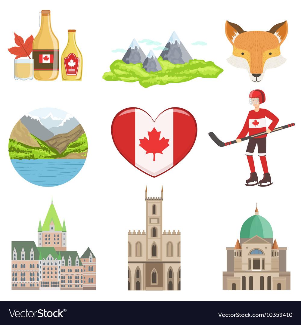 Canadian Culture Symbols Clipart Library