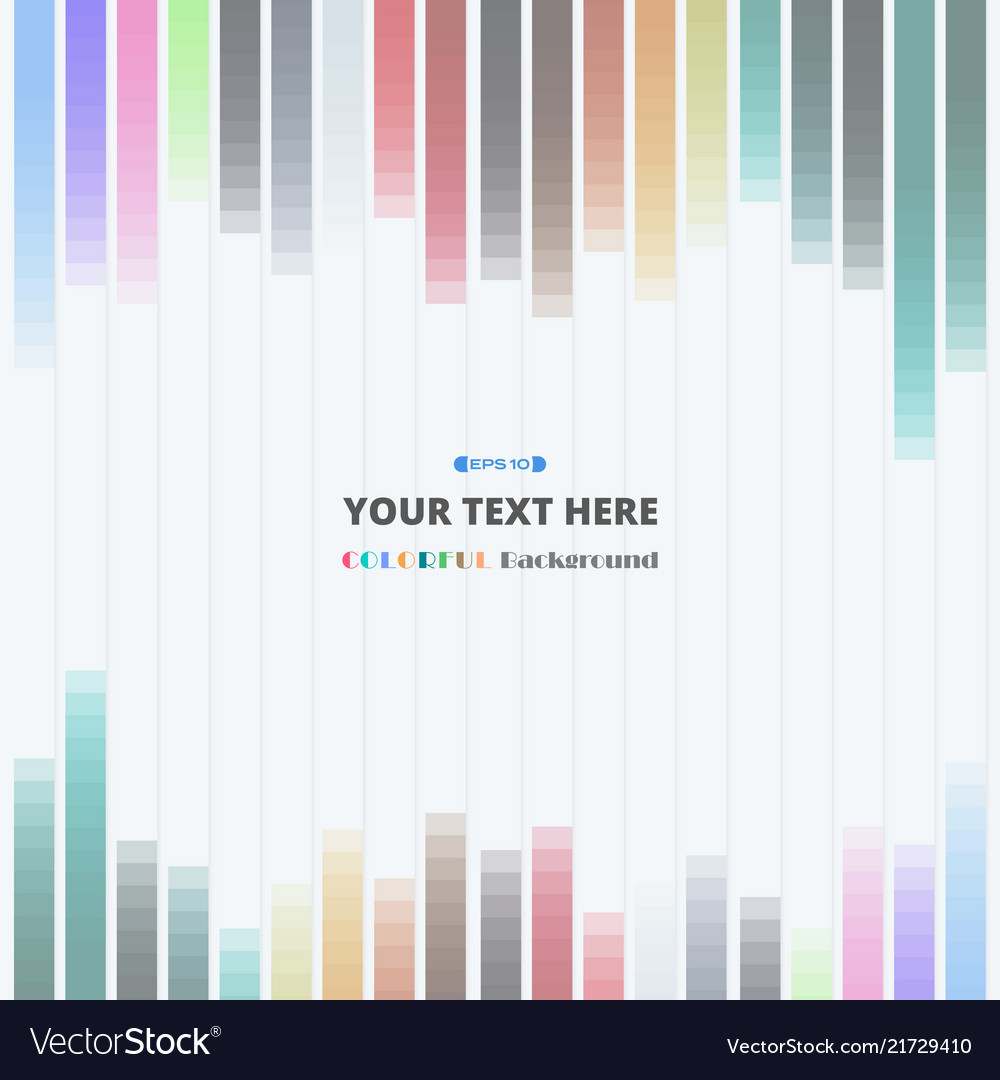 Colorful strips lines pattern background