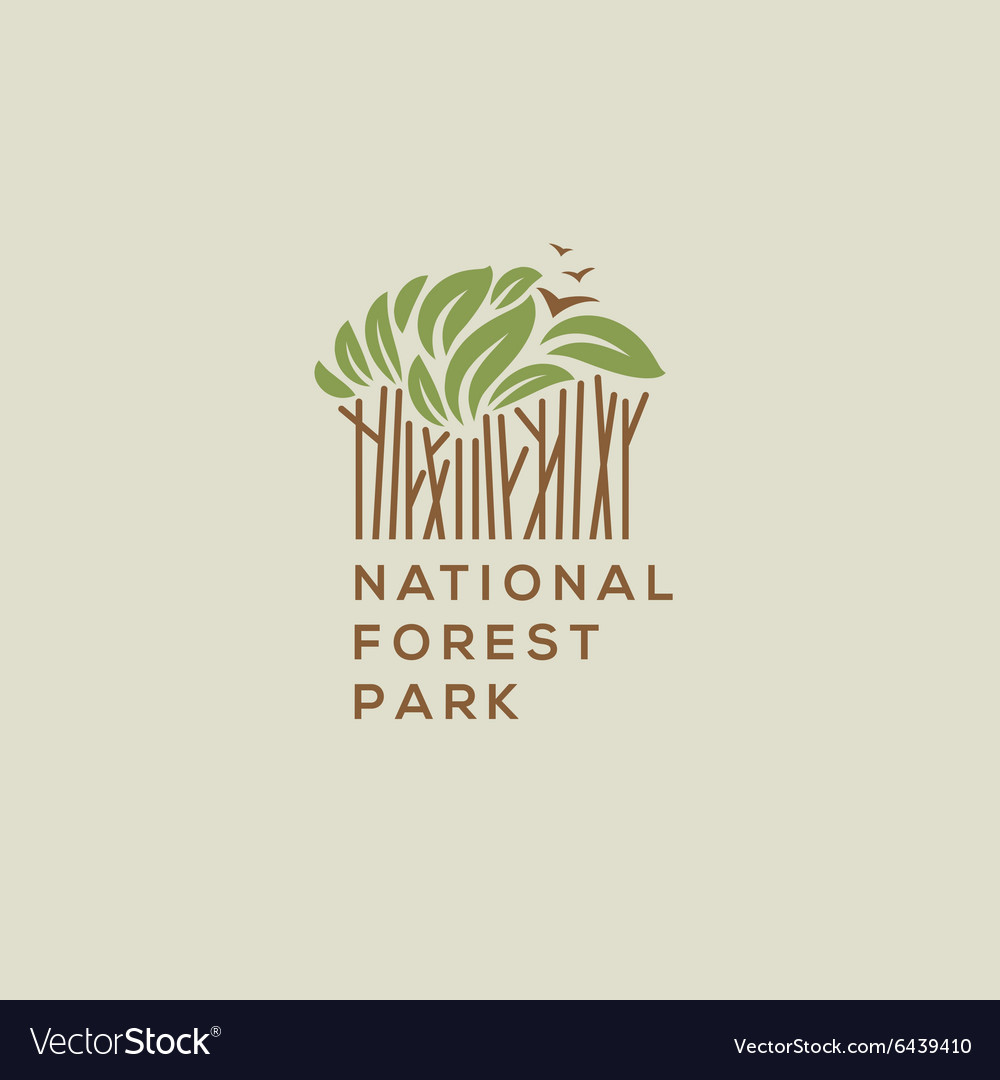 Forest national park logo