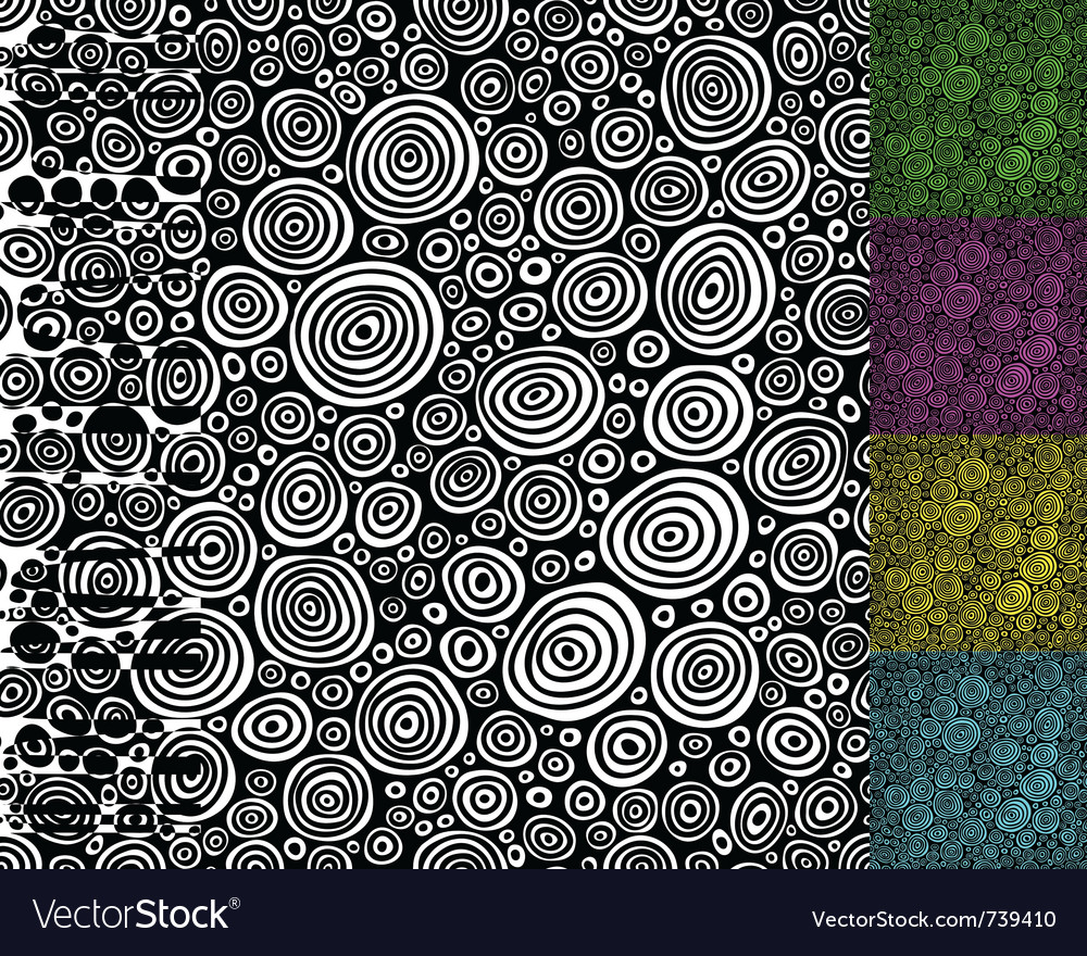 Seamless background pattern vector