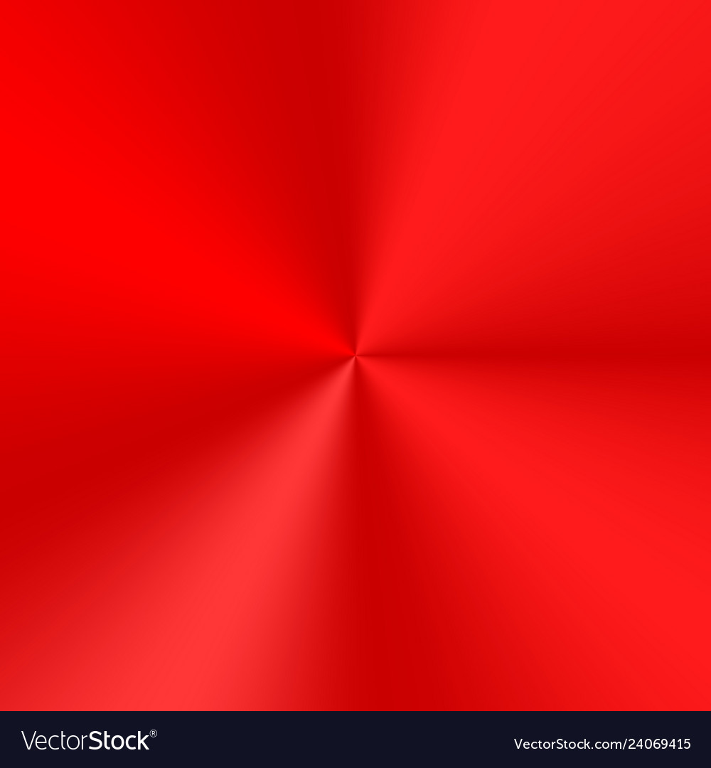 Red conical gradient