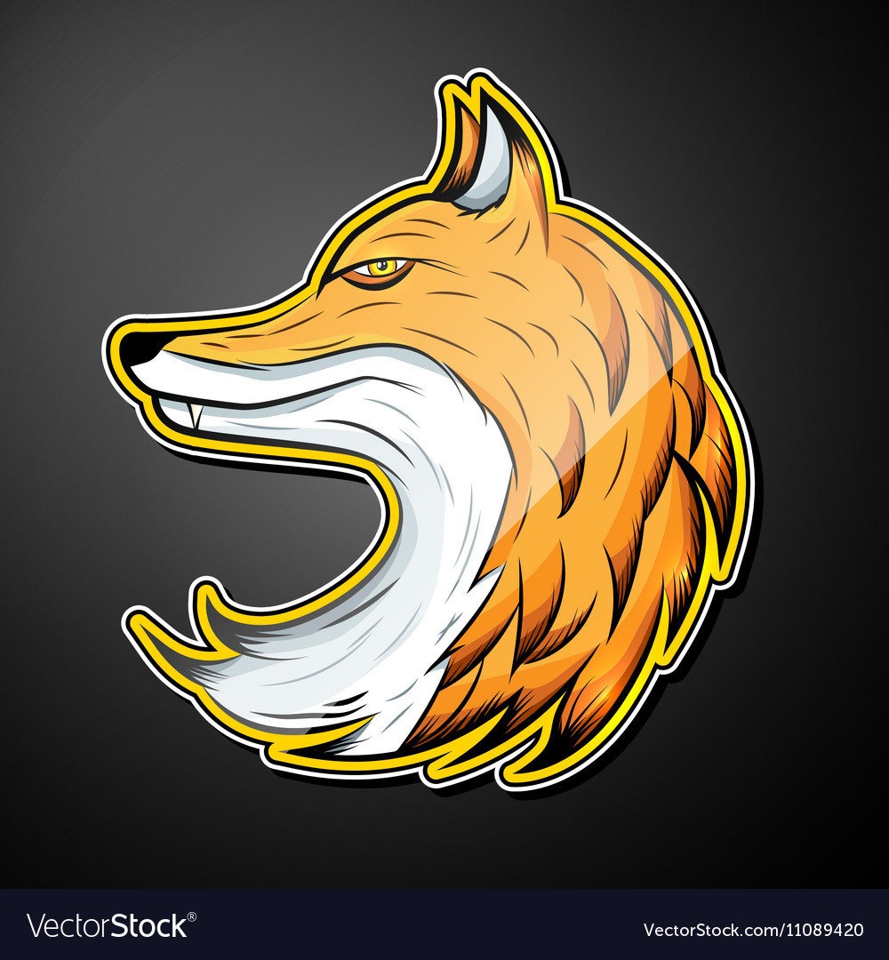 Fox color emblem