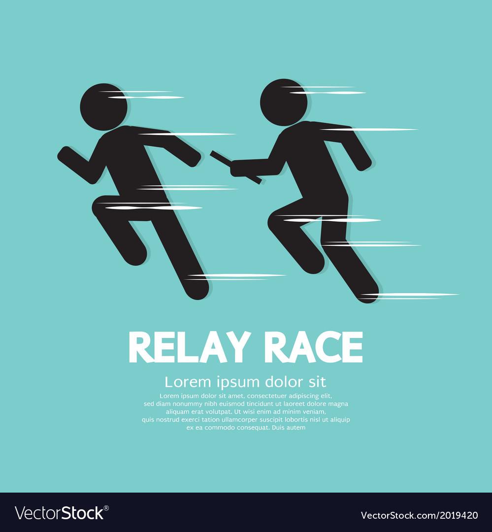 Relay Race vector image
