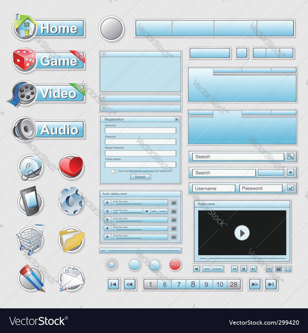 Web interface set