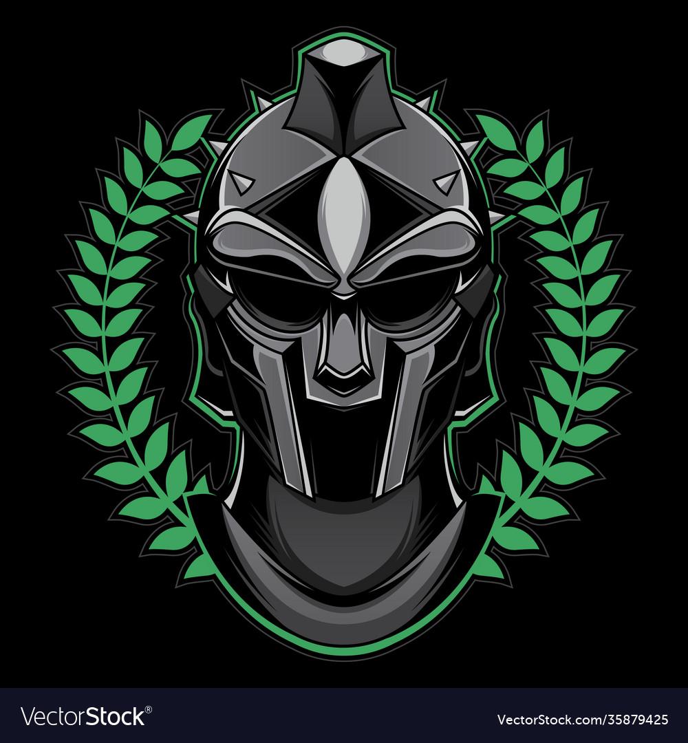 Gladiator head