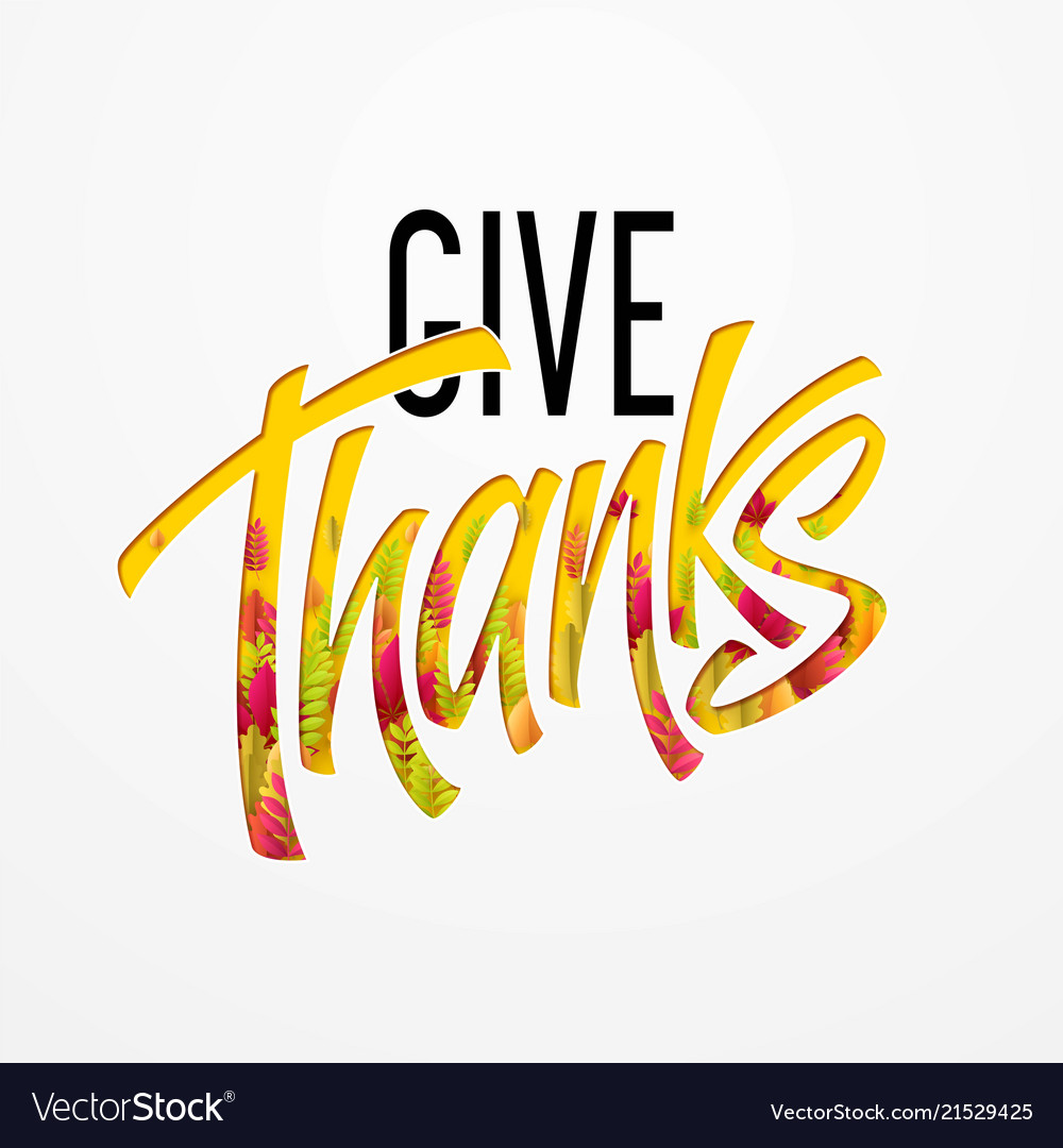 Hand drawn happy thanksgiving day background give