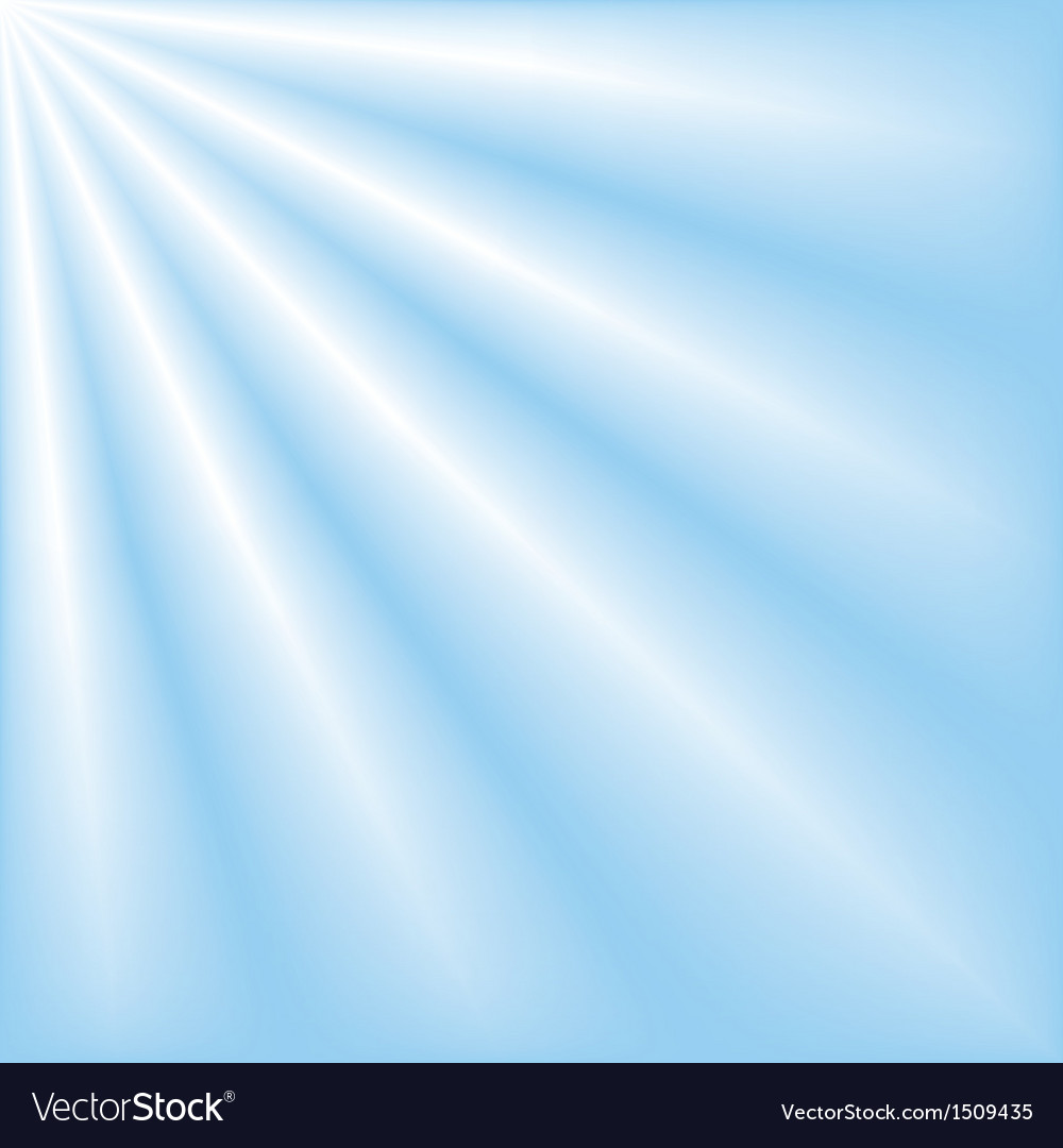 Blue sky with ray lights