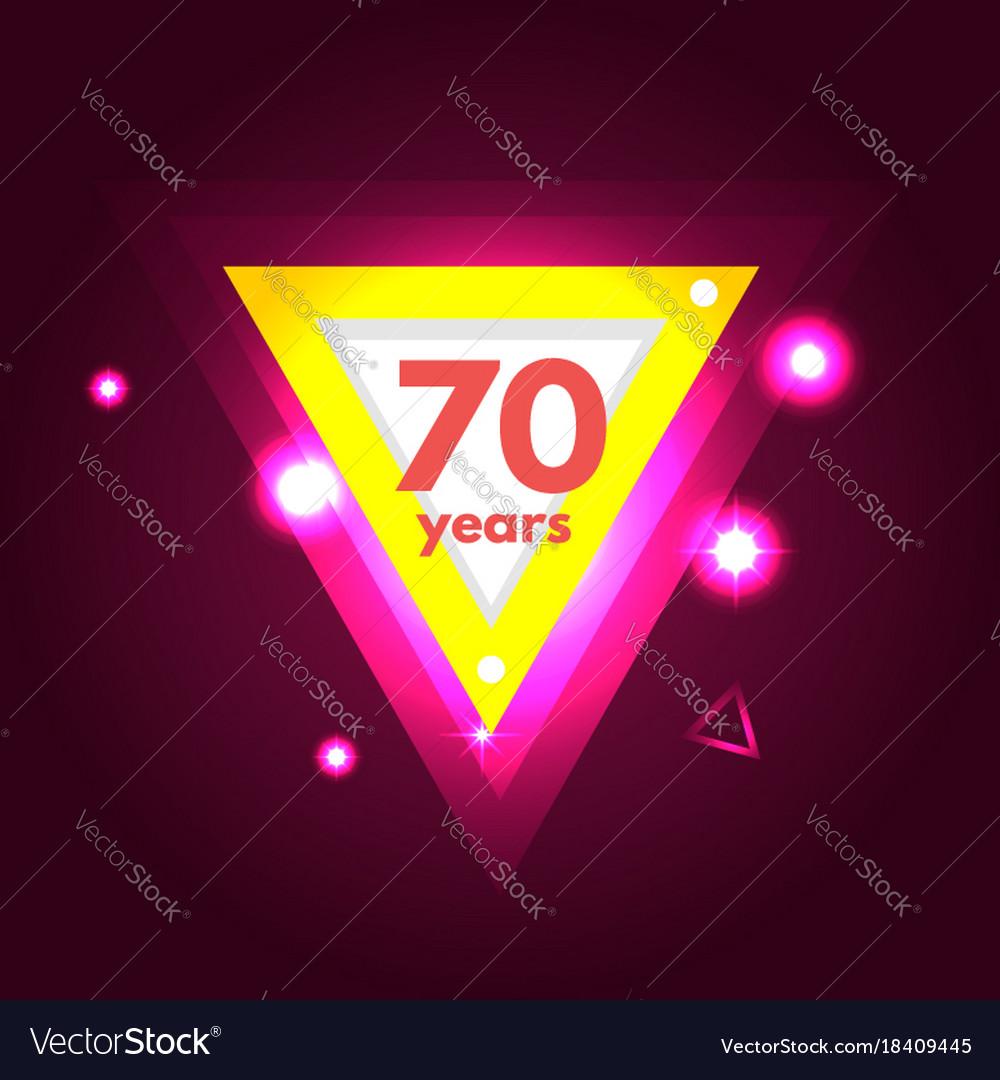 Anniversary 70 icon