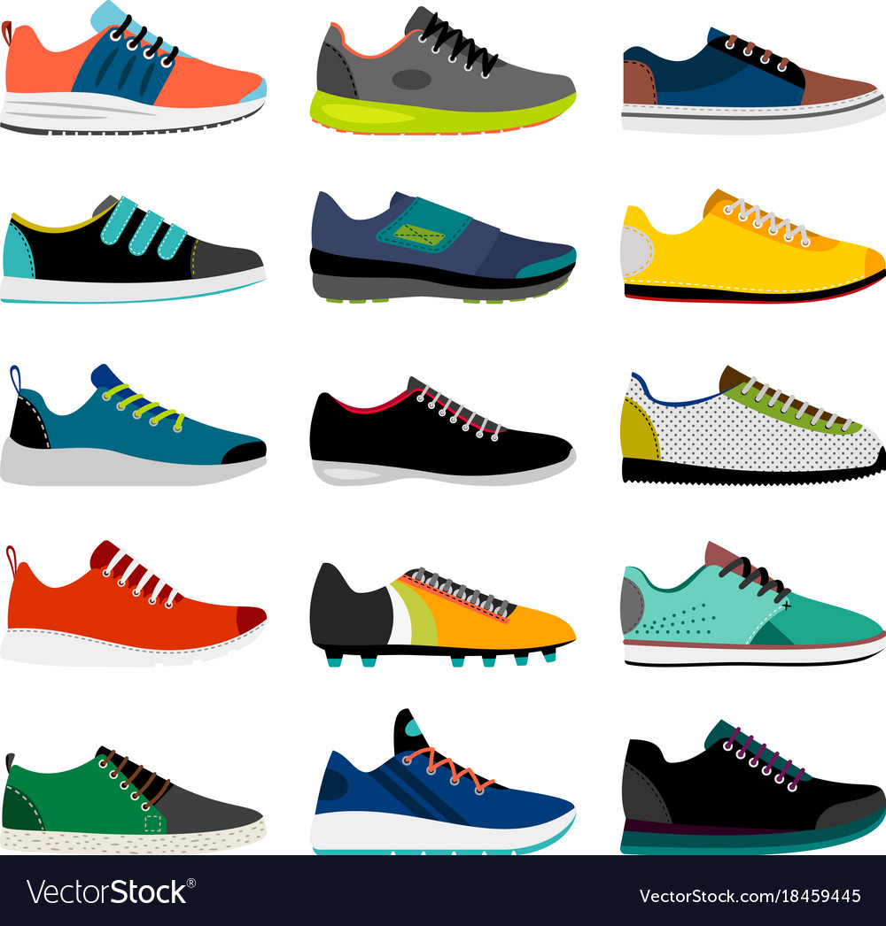 Sneaker shoes collection