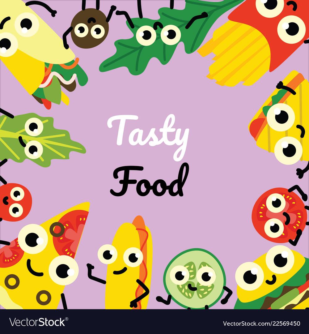 Food Border Clip Art