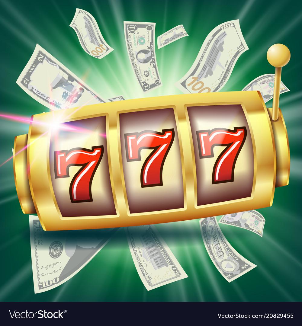 Casino slot machine banner fortune chance