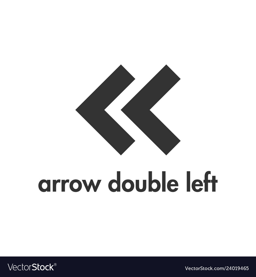 Arrow icon design template isolated