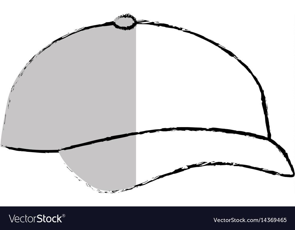 Sport cap isolated icon