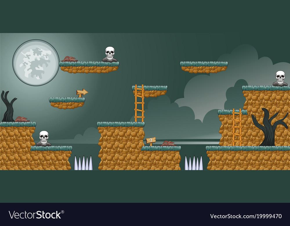2d tileset platform game 16