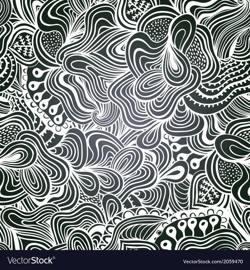 Chalkboard seamless floral pattern Copy that