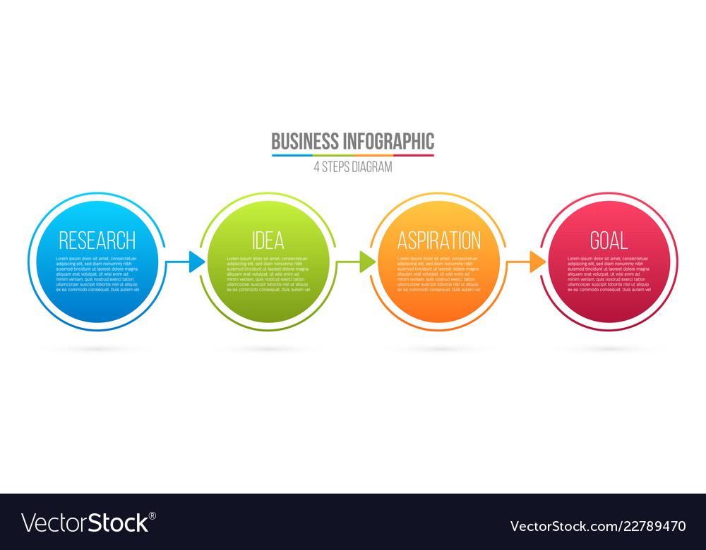 Creative of infographic line