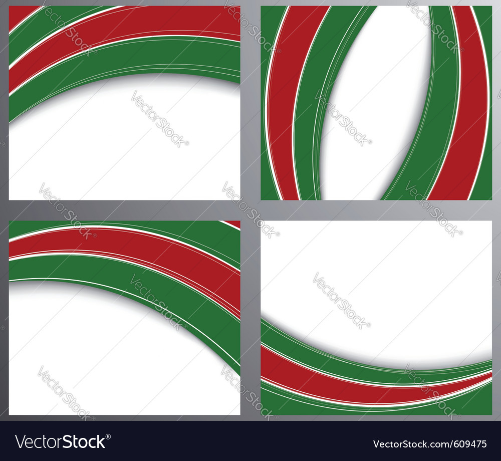 Business corporate style templates set vector image