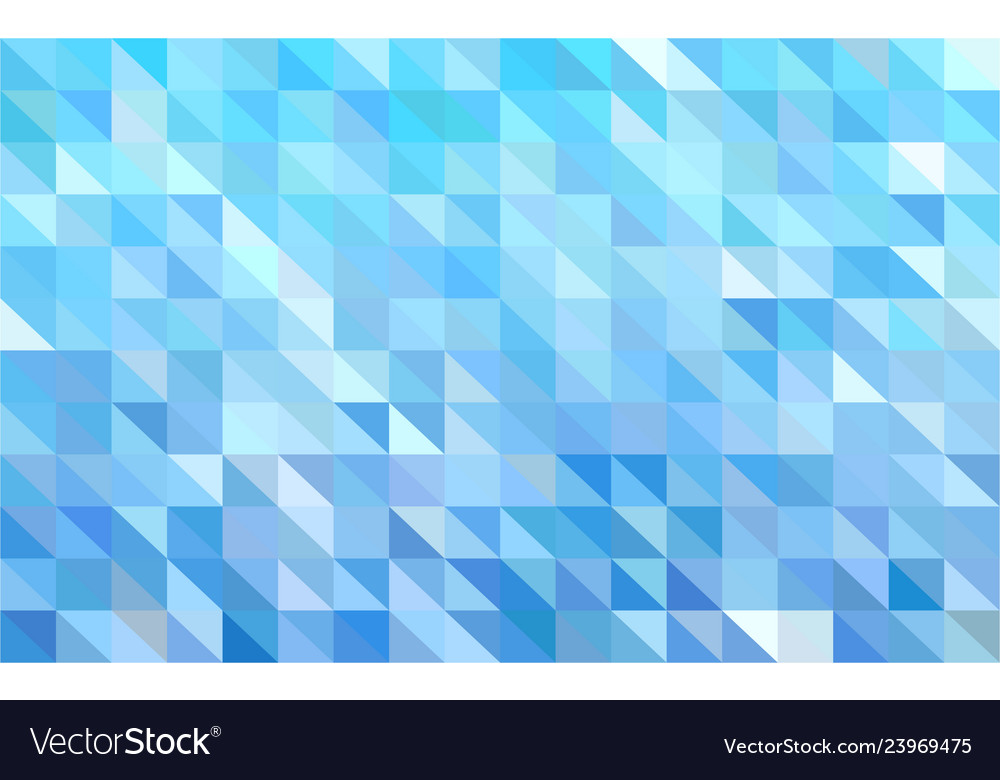 Mosaic light blue background