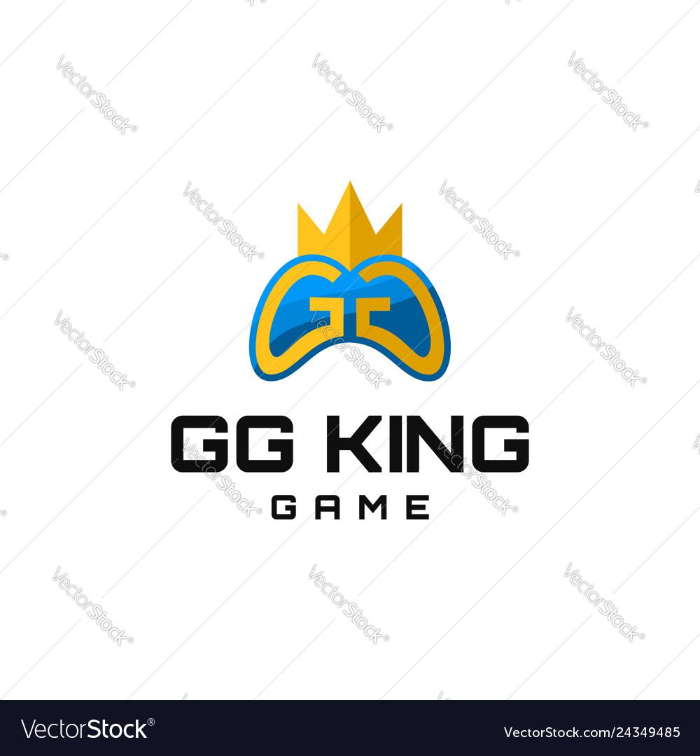 Gg king game logo