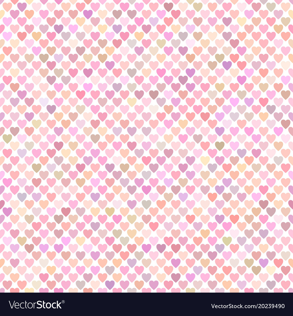 Seamless pink heart pattern background