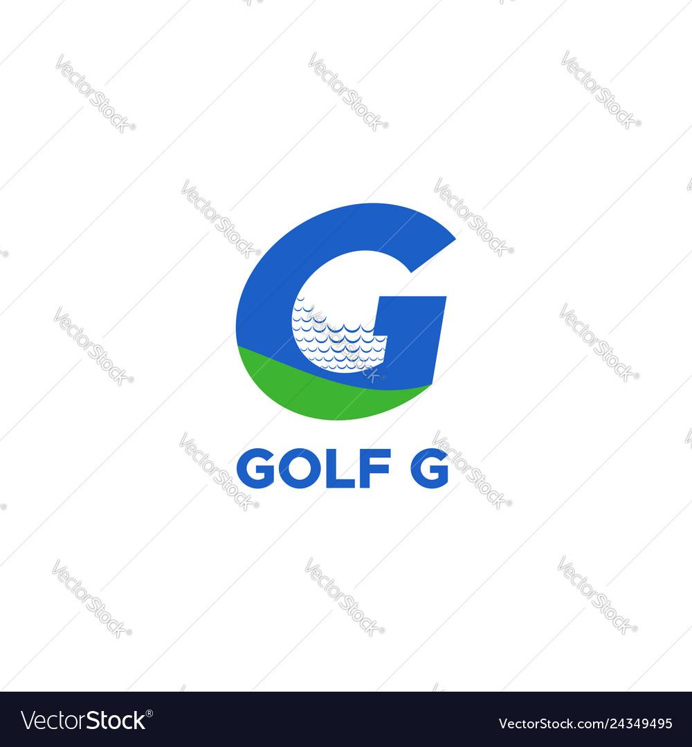 Golf g logo
