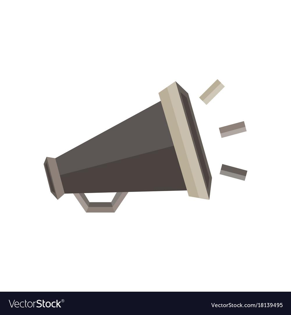 Megaphone Icon Sign Speaker Symbol Loud Design Vector Image