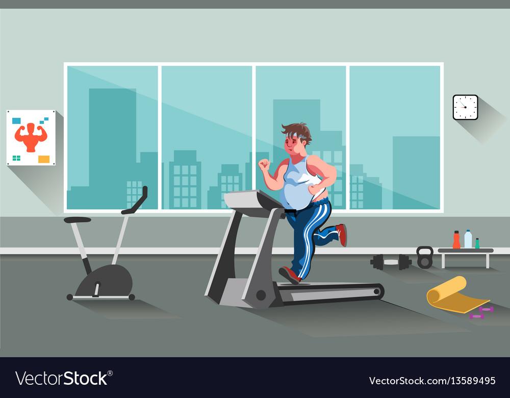Sport fitness man