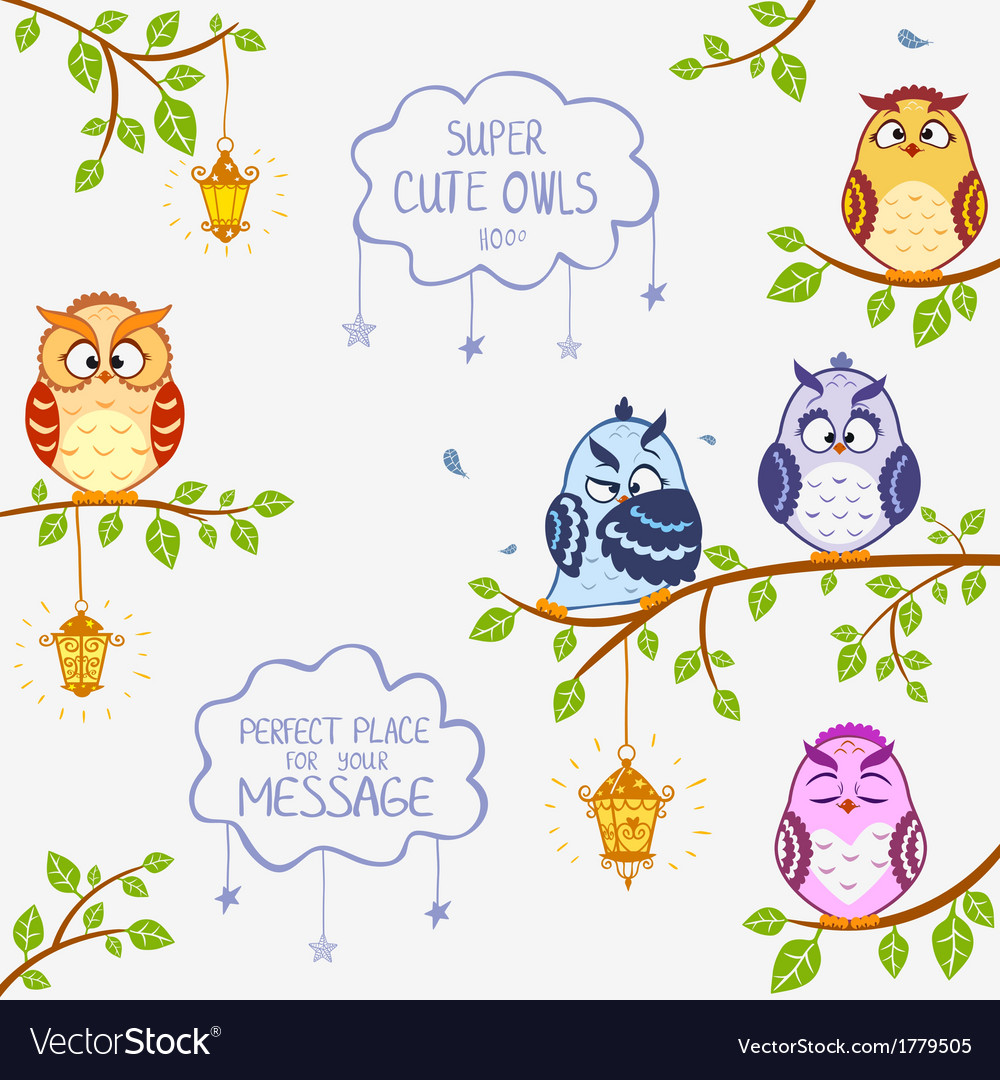 Owls super cute