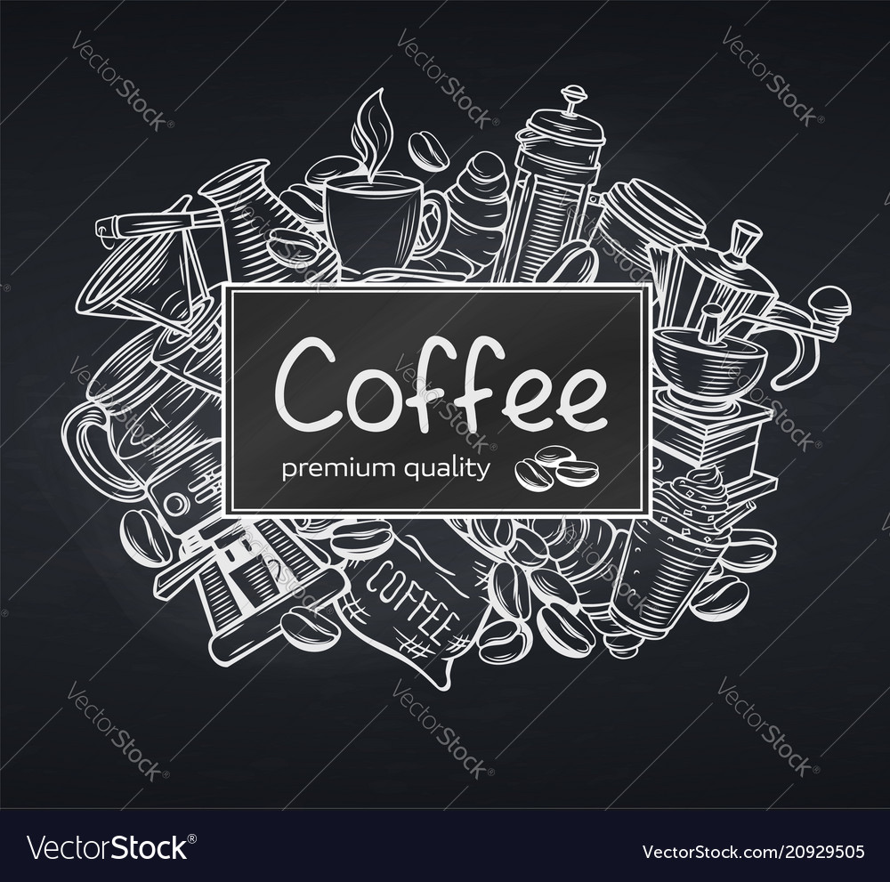 Poster template coffee