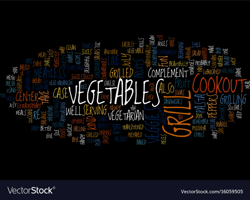 Th of july cookout text background word cloud