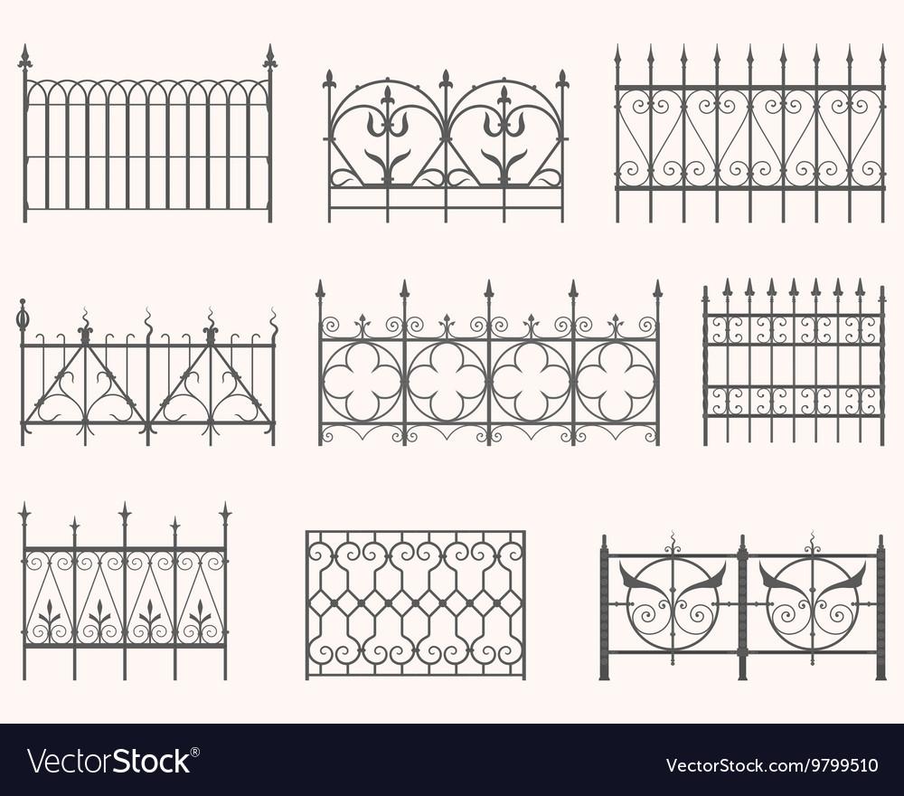 Antique fences - first set
