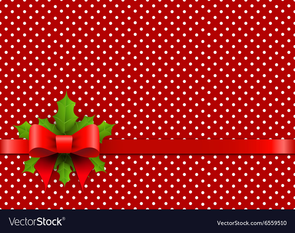 Christmas Backgrounds Free.Christmas Background With Polka Dots