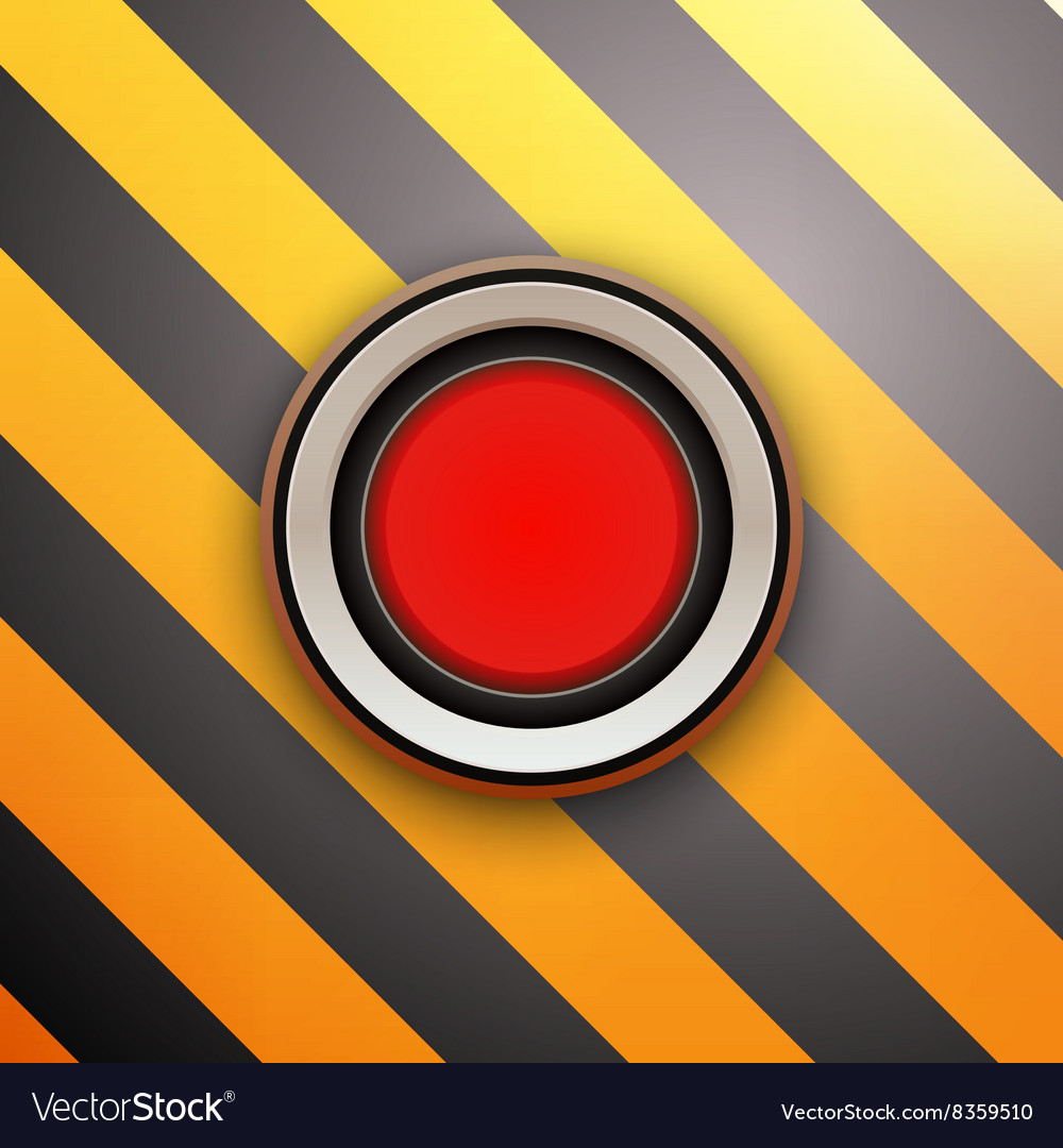 Industrial Red Button Do not press