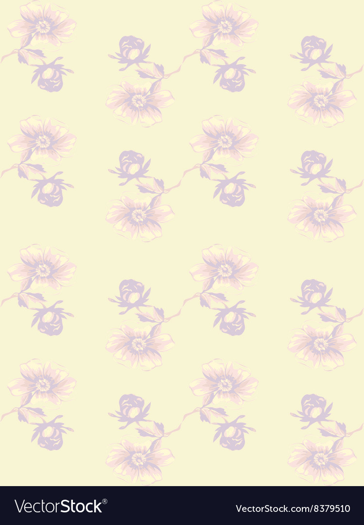 Wallpaper seamless floral vintage background