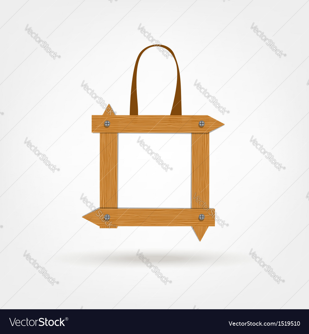 Wooden Boards Shopping Bag