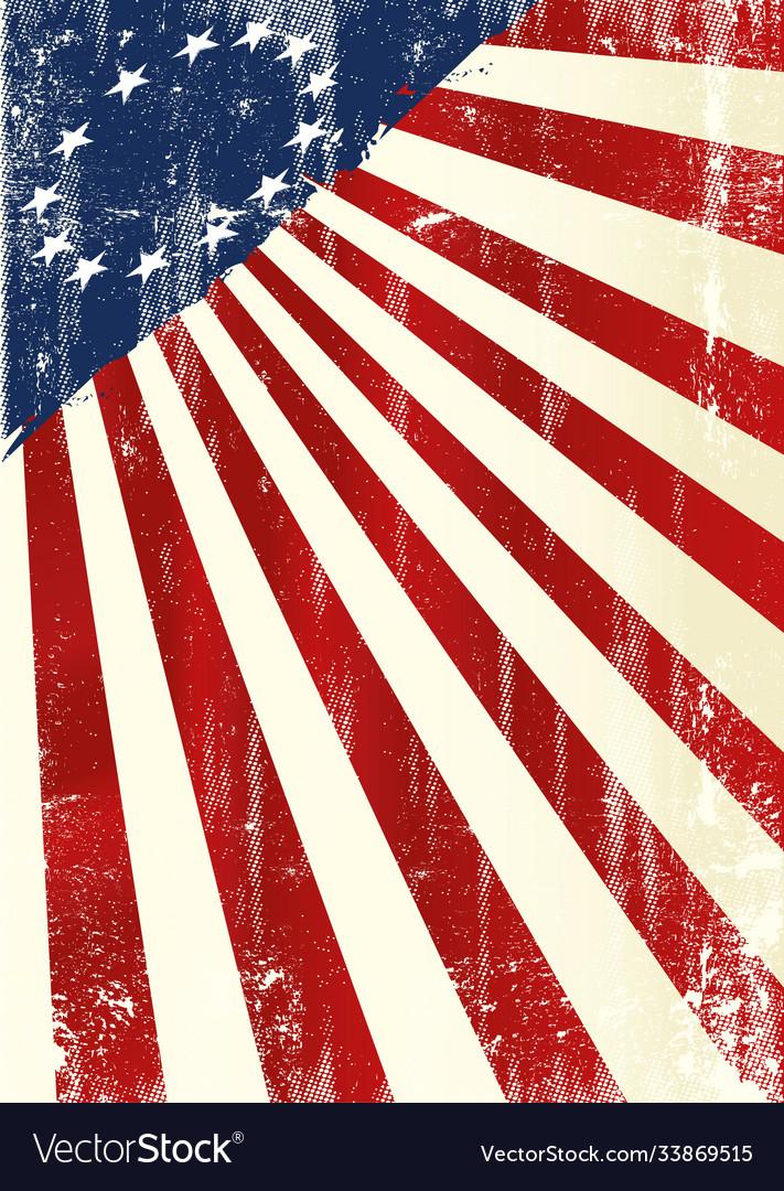 Betsy ross flag poster