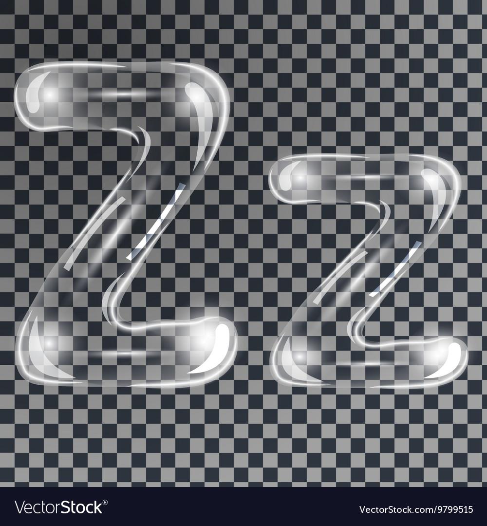 Bubbles letters Z