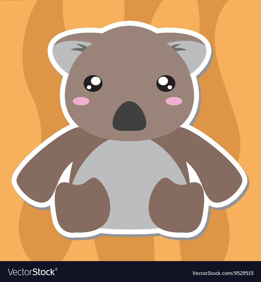 Koala Cartoon Style