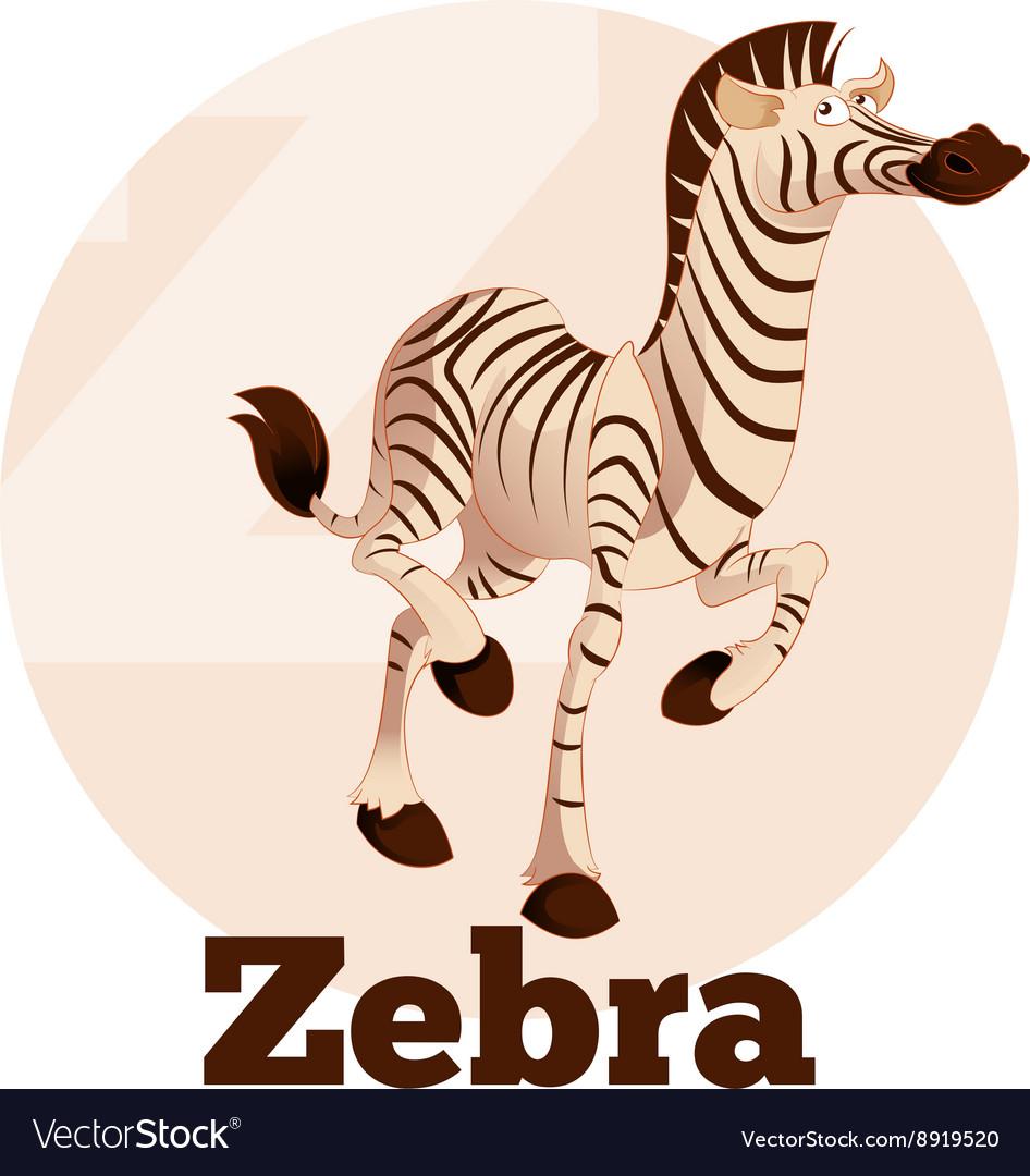 ABC Cartoon Zebra