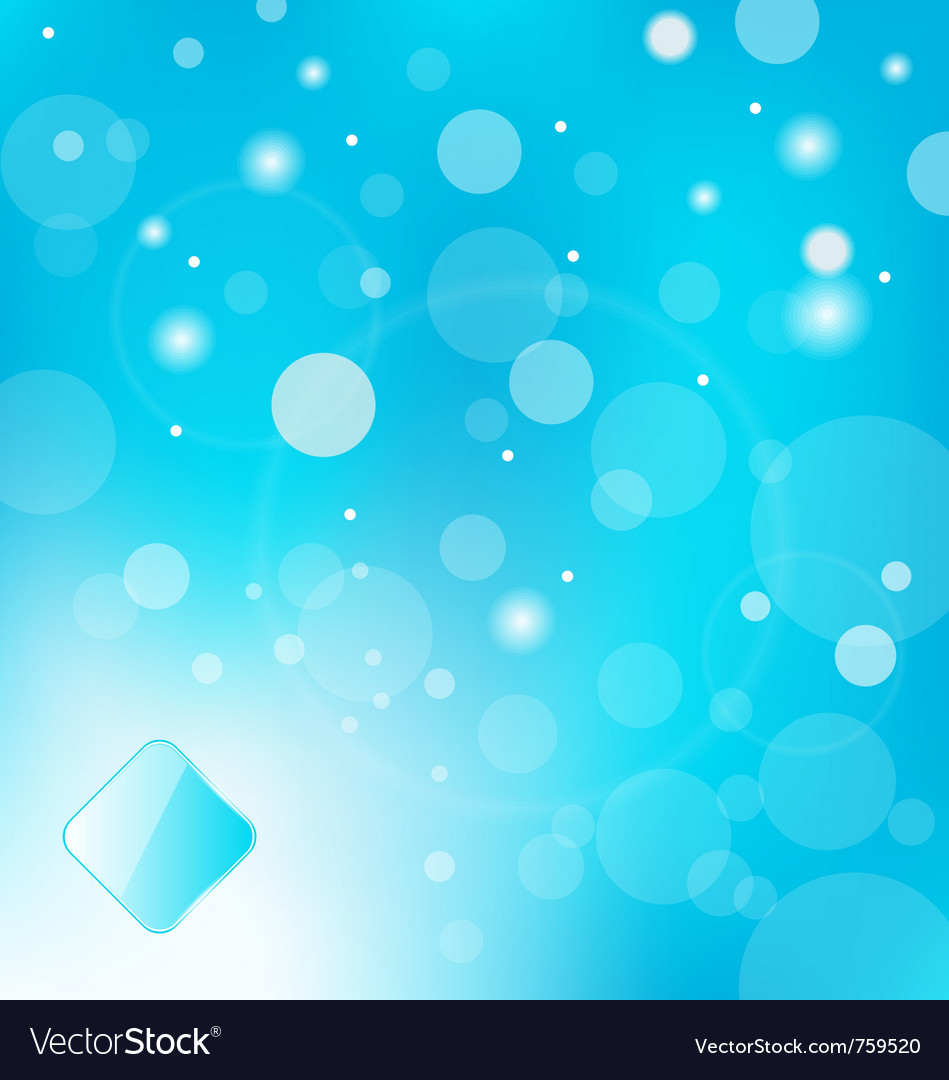 Abstract blue light with label background