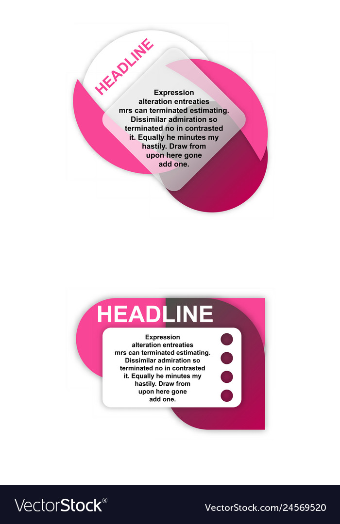 Colorful statistics template growth chart
