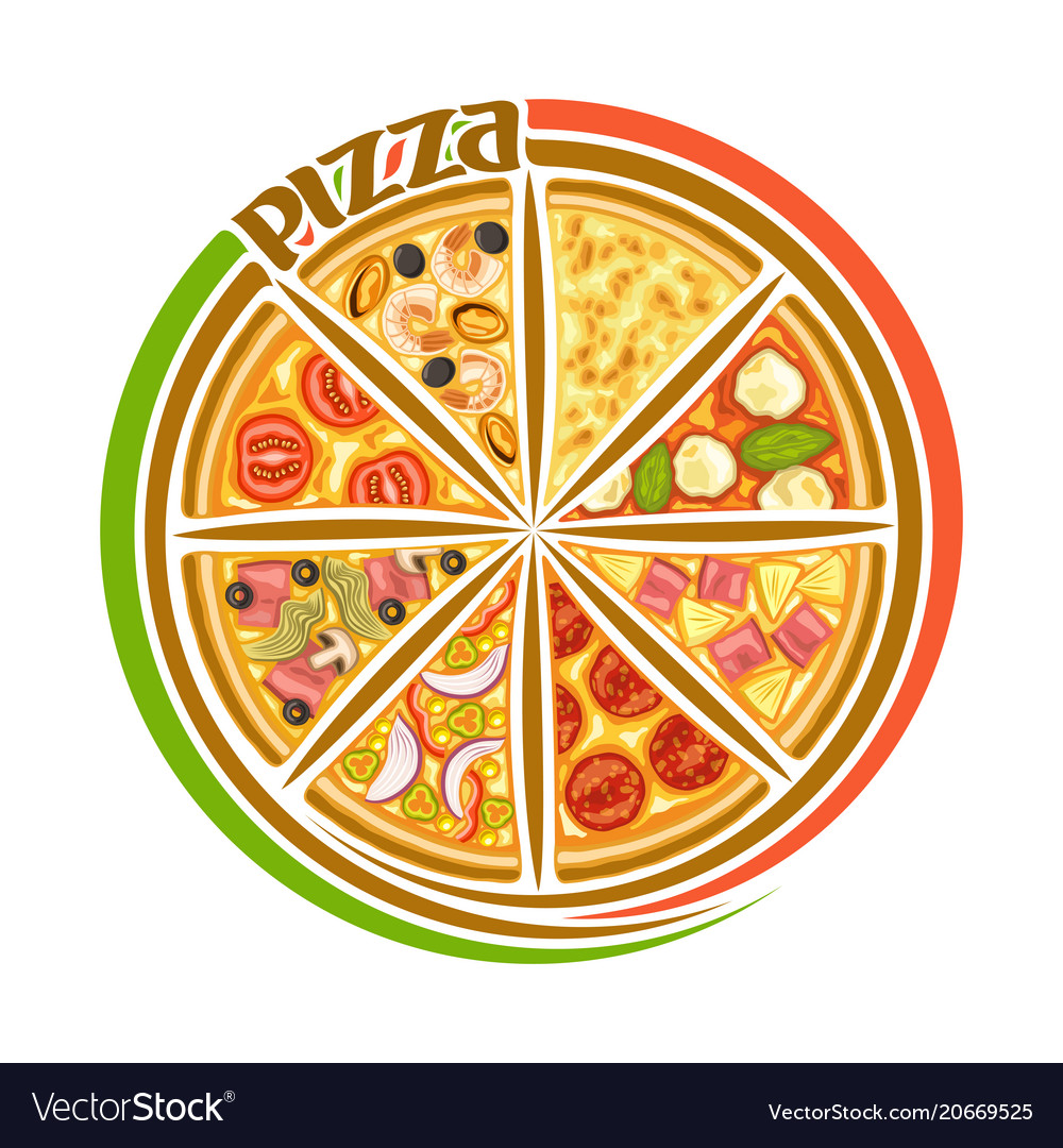 Logo for italian pizza