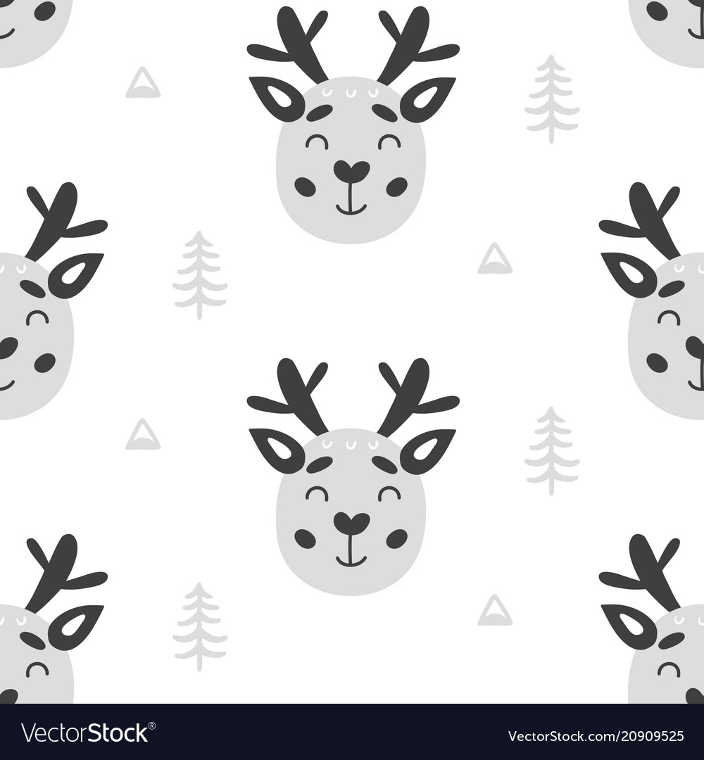 Nursery childish seamless pattern background