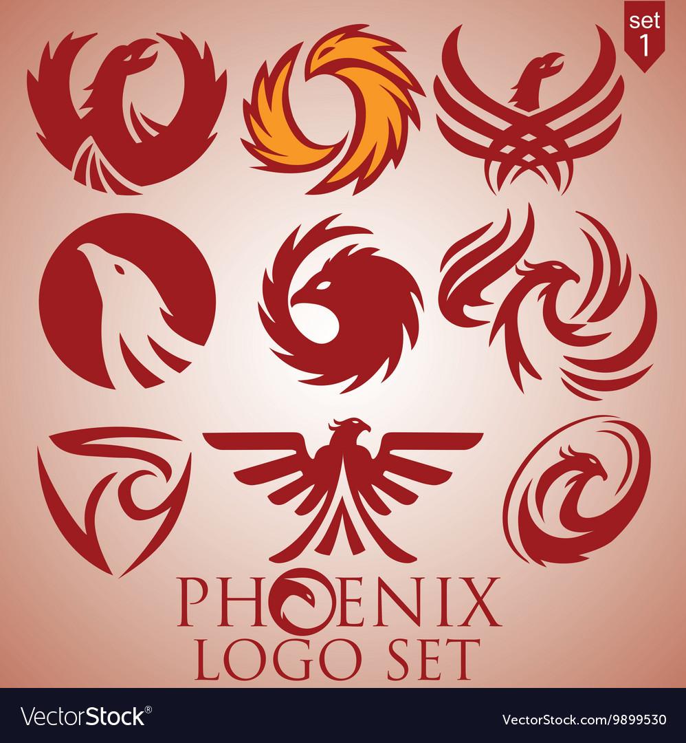 Phoenix logo set 1